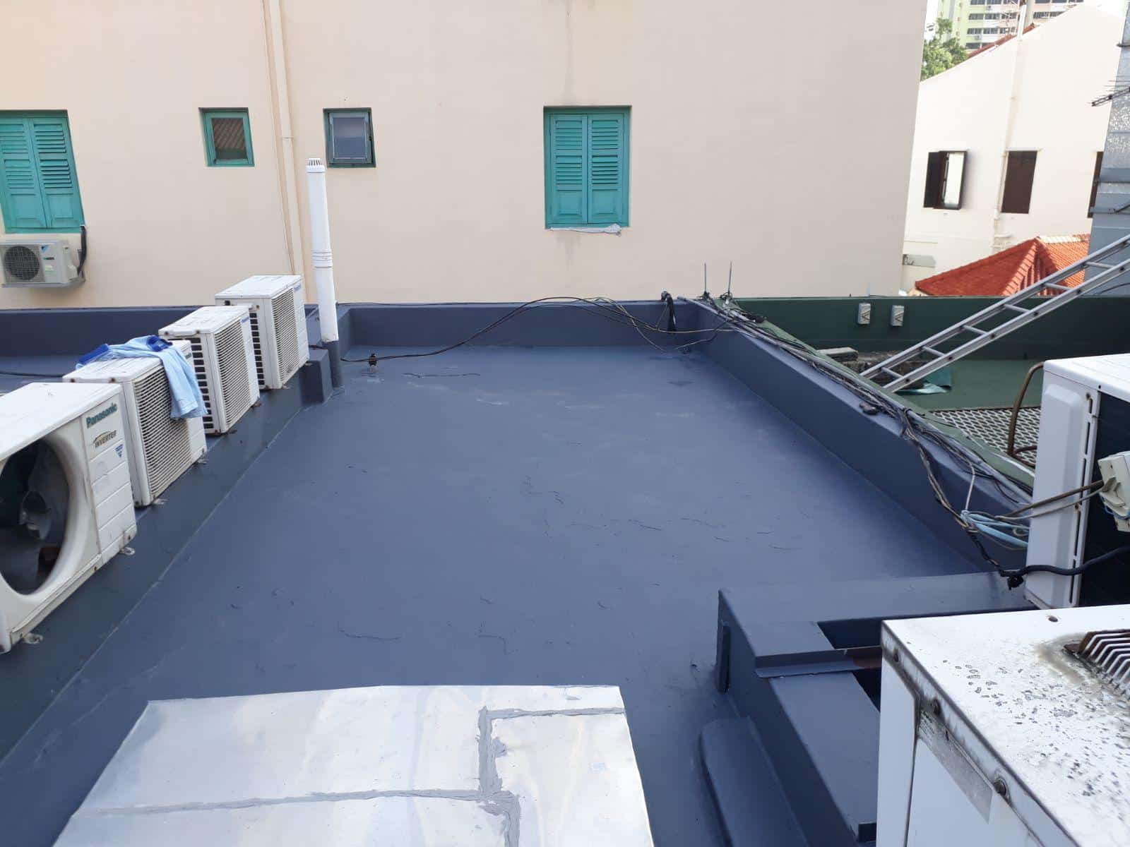 Waterproofing of R.C Flat Roof
