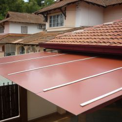 Aluminium Composite Panel Roof