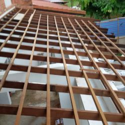Installation Roof Structure