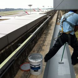 Waterproofing Works at Changi Airport Terminal 3
