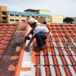 Repairing Roof Flashing and Capping
