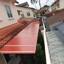 Aluminium Composite Panel Roofs